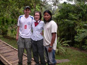 558 Javier Sani Lodge native naturalist guide